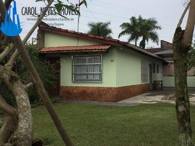 Casa Linda A 600 Mts Da Praia ! C/ 3 Dorm!