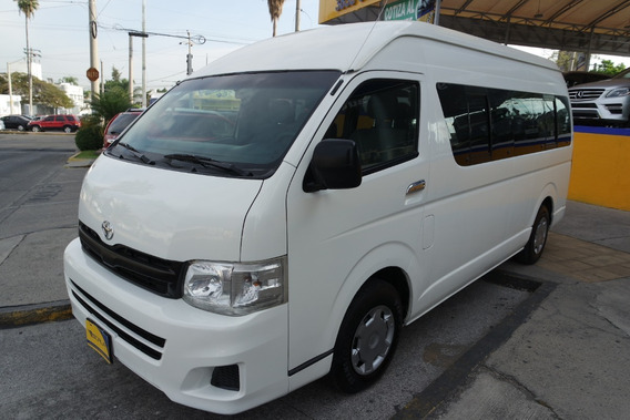 Toyota Hiace 15 Pasajeros 4 Cil 2.7 Lts. excelente Trato