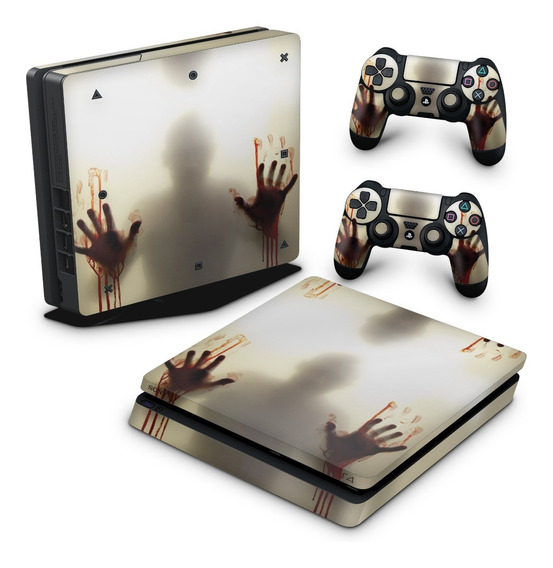 Skin Ps4 Slim Adesivo Playstation 4 Fear The Walking Dead