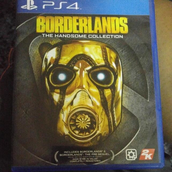 Borderlands The Handsome Collection Ps4 Midia Fisica