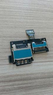 Slot Cartão Sim + Cartao De Memoria S4 Mini I9192