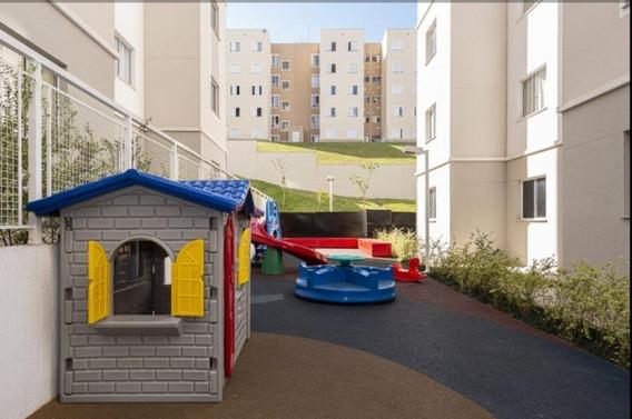 Apartamento Para Venda Em Jandira, Jardim São Luiz, 2 Dormitórios, 1 Banheiro, 1 Vaga - Jandira_2_1-1388297
