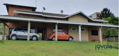 Linda Casa Térrea Com 3 Suítes À Venda, 300 M² - Condomínio Fechado Parque Vale Dos Lagos - Jacareí/sp - Ca1890