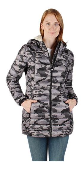 Chamarra Mujer Greenlander Pol7010 Camuflaje Capucha