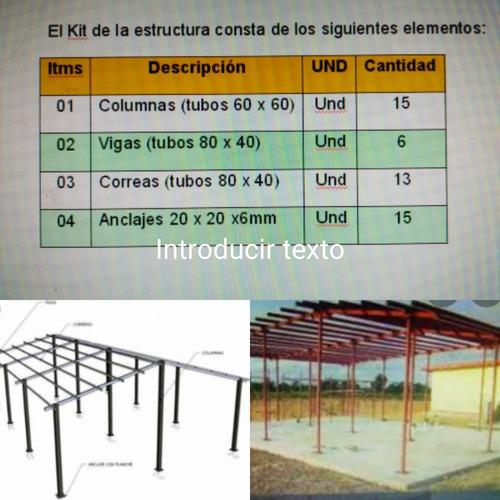 Estructura Para Casa De 90m2