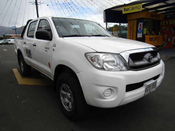 Toyota Hilux Mt 2600cc 4x4 Td
