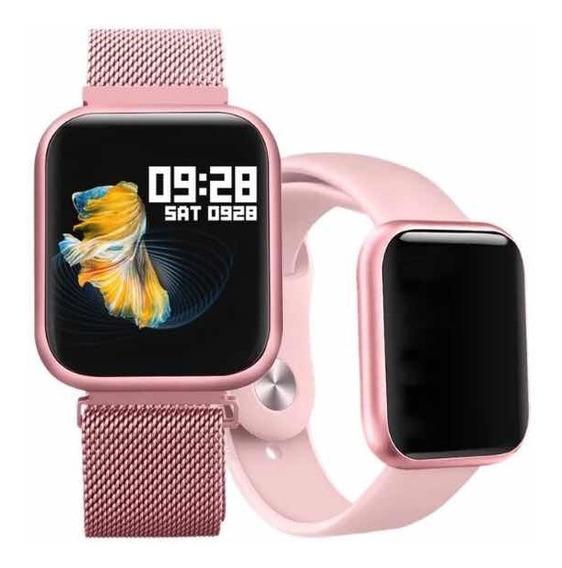 Smartwatch P80 , Reloj Inteligente P80 Moda