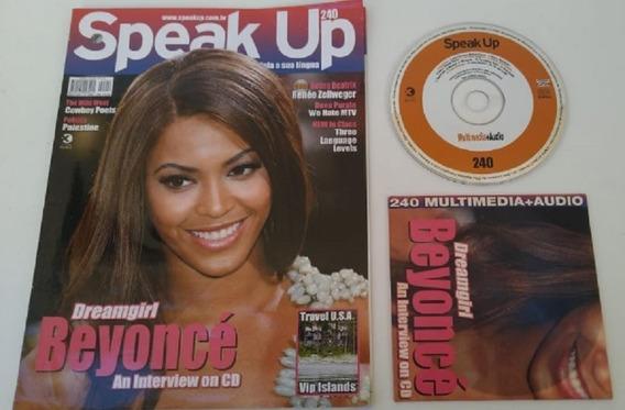 Revista Speak Up 240 Beyoncé Excelente Para Estudar Ingles