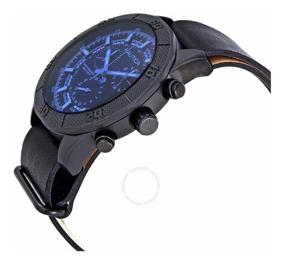 Relógio Nautica Nst 11 Cronógrafo Preto
