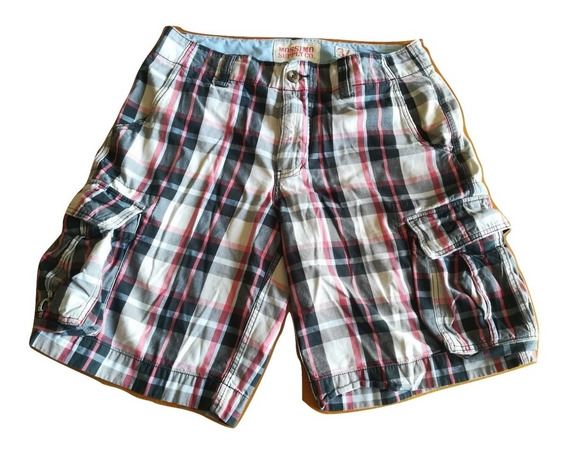Short Bermuda Original Mossimo Supply Us Talla 34 Tipo H&m