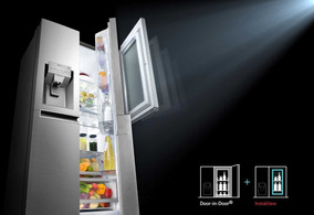 Refrigerador Instaview Door In Door Con Motor Inverter Line