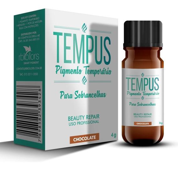 Pigmento Tamporário Tempus Rb Kollors Renata Barcelli Chocolate - 4g