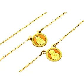 Corrente Ouro 18k Escapulário 60cm + Frete + Caixa 1826