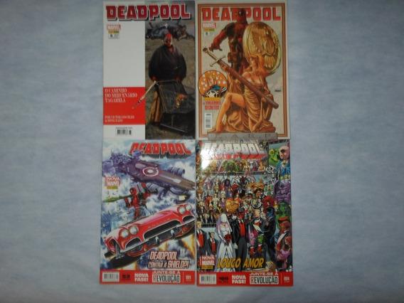 Lote Com 4 Hqs Deadpool