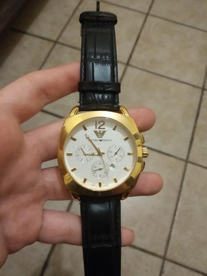 Relógio Emporio Armani Ar-766 Não Original Dourado