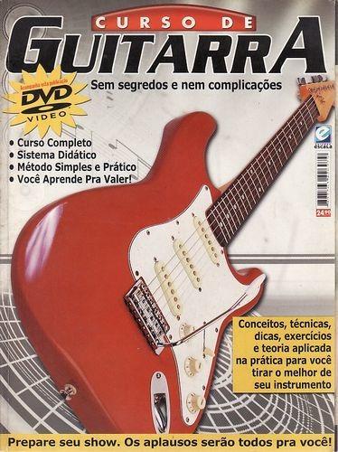 Curso De Guitarra: Sem Segredos E Nem Co Sem Autor
