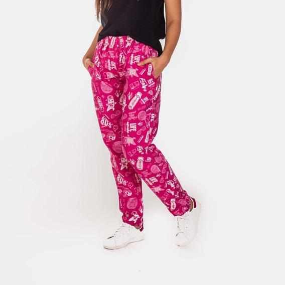 Pantalon Elepants Mujer Estampado (viyela)