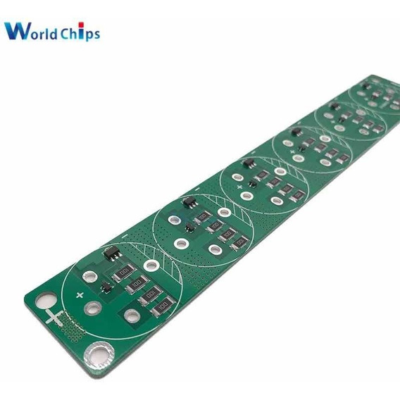 Placa Controle De Carga Super Capacitor 2.5v ~ 3v , Até 700f