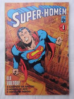 Super-homem Nº 1 - Gil Kane - Editora Abril - 1984