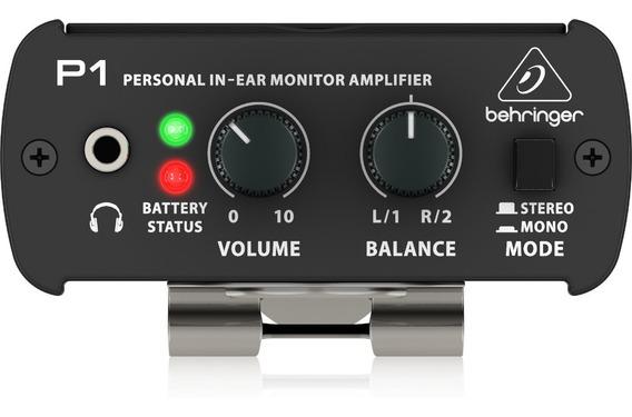 Amplificador De Fone Behringer Powerplay P1 #279472
