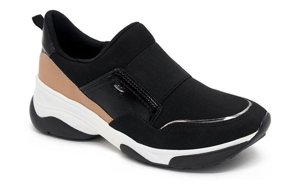 Tênis Dakota Slip On Sneaker G2482 Preto