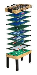 Mesa Multijuego 12 Juegos En 1 Futbolito Tejo Ping Pong