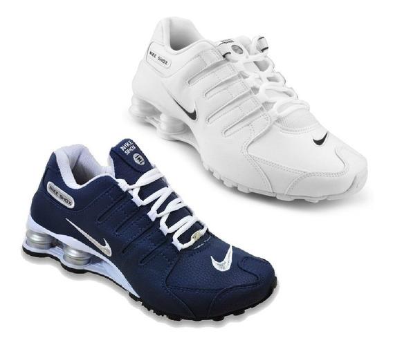 Tênis Nike Sxhox Nz 4 Molas Novo Na Caixa Original Promoção Queima De Estoque Kit Com 2 Pares Pague 1 Leve 2 Envio 24h