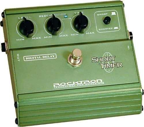 Pedal Para Guitarra Delay Rocktron Short Timer Verde Oferta