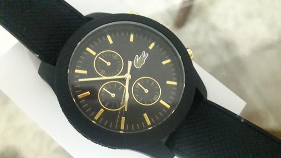 Relógio Lacoste Legítimo Novo Na Caixa