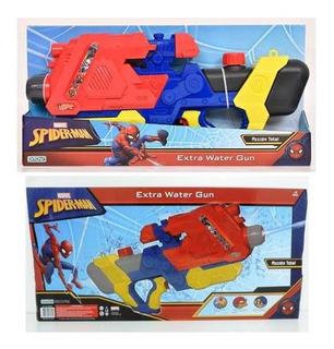 Juguete Pistola De Agua Spiderman Extra Water Gun+cuota