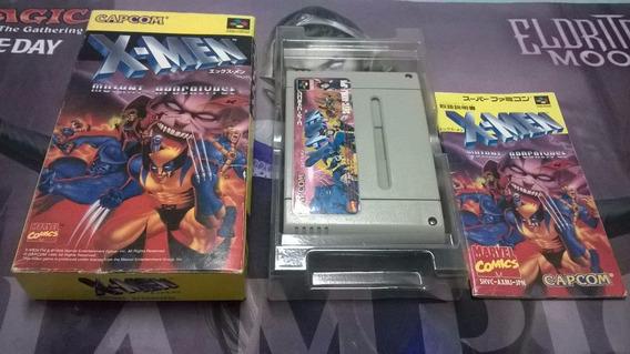 X - Men Mutant Apocalypse Cib Super Famicom - Final Fight