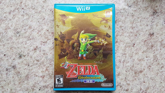 The Legend Of Zelda: The Windwaker Hd Wiiu