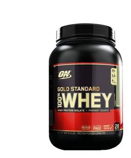 100% Whey Gold Standard 907g - Optimum Nutrition - On
