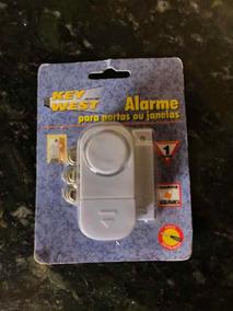 12 Alarmes Magnéticos Sirene Key West Para Portas E Janelas!