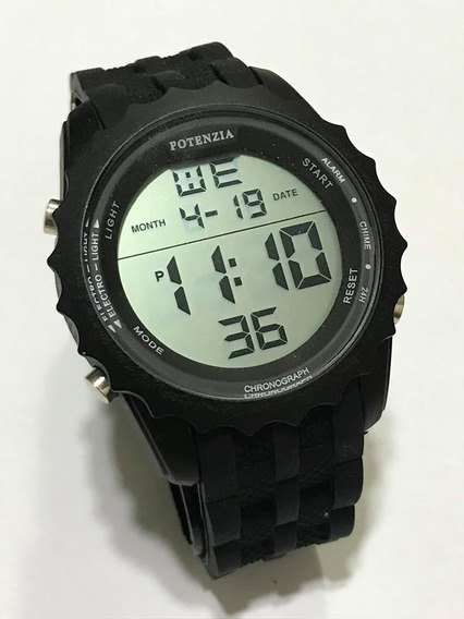 Relógio Masculino Digital Potenzia Militar