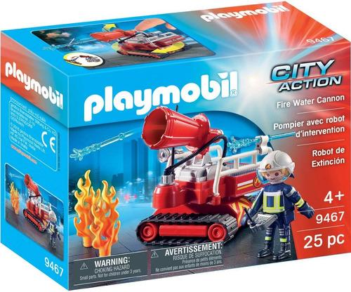 Robot De Extincion Playmobil 9467 City Action Ink Educando