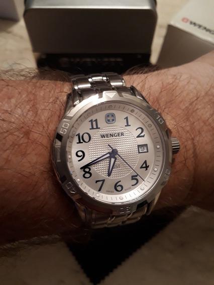 Relógio Wenger Gst - Swiss Made - Lindo E Zerado !!!