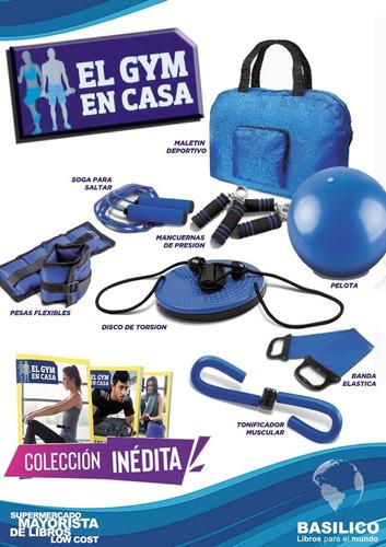 Clarín Gym En Casa - 8 Accesorios - Envio Gratis - 6 Cuotas