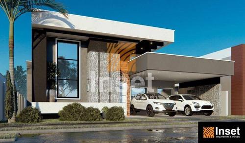 Imagem 1 de 11 de Casa Com 3 Dormitórios À Venda, 197 M² Por R$ 1.180.000,00 - Condomínio Horizontal Fechado Arco De Paris - Foz Do Iguaçu/pr - Ca0663