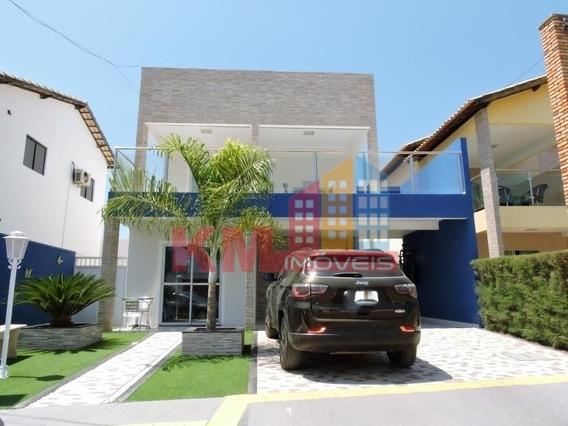 Vende-se Linda Casa Duplex No Condominio Veronique - Ca0292