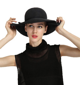 Sombrero Pava Mujer Sol Elegante 1 Unidad Gorro Vestido