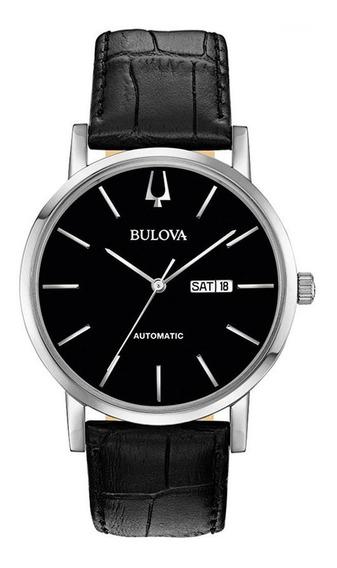 Relógio Bulova Masculino Automático 96c131 Garantia E Nfe