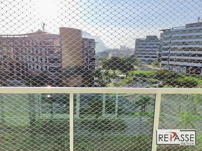 Apartamento Com 2 Dormitórios À Venda, 100 M² Por R$ 1.050.000 - Barra Da Tijuca - Rio De Janeiro/rj - Ap1305