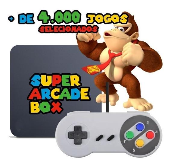 Video Game Retro 4000 Jogos Selecionados