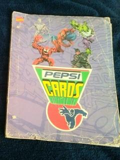 Album De Pepsi Cards Version Marvel Original
