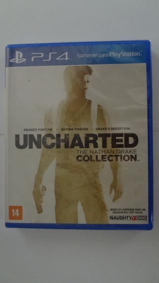 Uncharted Collection Ps4 Novo E Lacrado