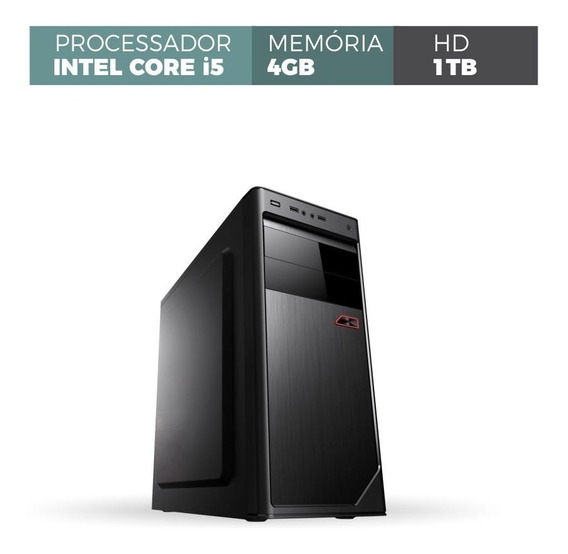 Desktop Corporate Intel Core I5 Memória 4gb Ddr3 Hd 1tb