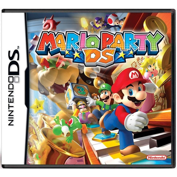Mario Party Ds Mídia Física Pronta Entrega