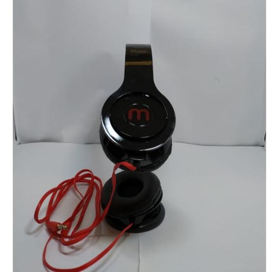 Kit 2 Fone De Ouvido - Headphone Extra Bass - Plugx