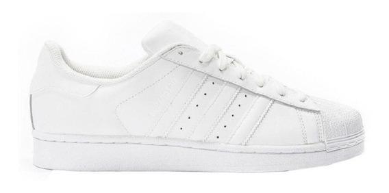 Tenis adidas Superstar Concha Blanco Mono Bebe Ba8380